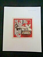 Frank STELLA El Lissitzky Had Gadya Pepsi Dovecot Studios Edinburgh Scotland UK