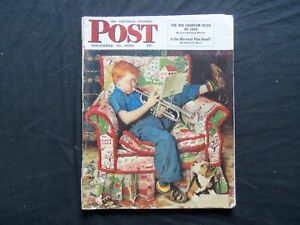 1950 NOV 18 THE SATURDAY EVENING POST MAGAZINE - NORMAN ROCKWELL COVER - SP 1848
