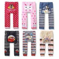 Toddler Infant Cotton Trousers Baby Boys Girls Kid Warm PP Pants Leggings 0-24M