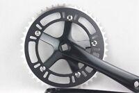 Fixed Gear 48T Crank Set  Bike Bicycle Aluminum Chainwheel Crank Set Single