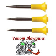 25 .40 caliber Hunting Spikes by Venom Blowgun Made in Usa