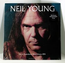 NEIL YOUNG Live at Superdome New Orleans 1994 180-gram VINYL LP Sealed