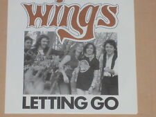 "WINGS -Letting Go- 7"" 45  neu"