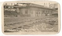 WMRR Western Maryland Railway Fulton Station BALTIMORE MD Railroad Depot Photo