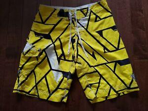 Billabong Size Swim Drawstring Trunks Board Shorts Size 30