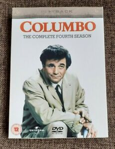 Columbo - The Complete 4th Season DVD Box Set (3-Disc Set) - Excellent Condition
