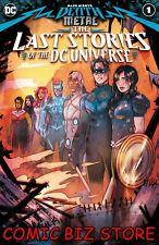 DARK NIGHTS DEATH METAL LAST STORIES OF THE DCU #1 (2020) 1ST PRINT MAIN CVR DC