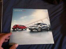 2012 Kia Rio USA Market  Sales Catalog Brochure Prospekt
