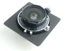 Super Topcor 65mm /f 7.0 lens, Seiko shutter & Horseman lensboard (9011893)