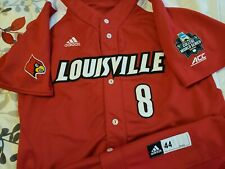 Nick Bennett 2017 Louisville Cardinals College WS Game Worn Jersey  Brewers Pick