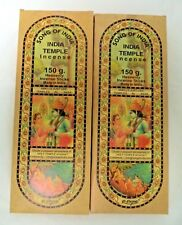 Song of India Incense Sticks: 300 Gram (2 x 150) XL Indian Temple Stick