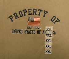 Old Varsity T-shirt XXL large property of United States of America embroider