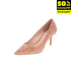 RRP €110 STEVE MADDEN Suede Leather Court Shoes Mismatch Size L37.5 R37 Heel