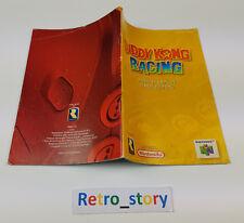 Nintendo 64 N64 Diddy Kong Racing Notice / Instruction Manual