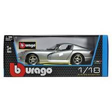 Dodge Viper GTS Coupe Silber 1 18 Bburago