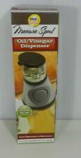 Press and Measure Oil and Vinegar Dispenser. Ideas in Motion New in Box