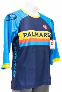 Castelli MTB 3/4 Sleeve Jersey Men MEDIUM Blue Palmares Colorado Mountain Bike