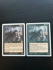 Zombie Master x2 ~ One 4th and one 6th ~ NM ~ MTG Magic the Gathering Card