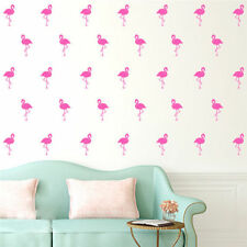 Cute Flamingo Stickers DIY Art Wall Decals Family Home Room Decor Wall Stickers