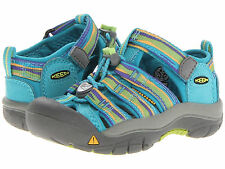 New Keen Newport H2 Shoes Sneakers Sandals Blue Turquoise Purple Girl 11 youth