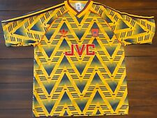 Rare Vintage Adidas 1991-1993 Arsenal Gunners FC Futbol Soccer Jersey