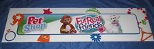 FUR REAL FRIENDS Toys R Us Exclusive Display/Sign (LARGE 4' x 1')   PET SHOP