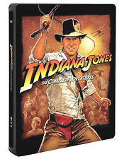 Indiana Jones Collection 4 Film Steelbook Édition (5 Blu Ray) Harrison Ford