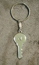 Letter N Key Shaped Metal Keychain, NICE!!! Nissan Nismo
