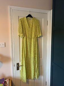 And Other Stories Yellow Maxi Dress - Size EU 40 (UK12)
