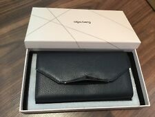 Brand New In Unopened Box Olga Berg's Black Leather Wallet