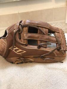 "Worth Toxic TXL140 14"" Brown Mesh Softball Glove Right Hand Throw"