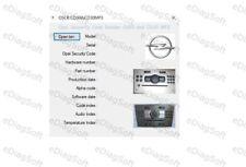 Opel Security Code Reader