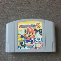 Mario Party 3 (Nintendo 64, 2001) N64 Authentic Game