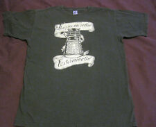 Teefury Dr Who Dalek They See Me Rollin T-Shirt Men's Medium Gray Pre-Owned