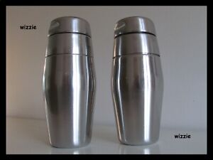 ALESSI : 2x COCKTAIL Shaker 870/50 / ALFRA / Luigi Massoni & Carlo Mazzeri