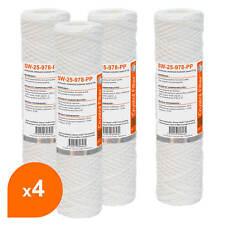 """Cartouche SW-25-978-PP sédiment bobinée 9""""7/8 - Filtre 25 µm - Crystal Filter®"""