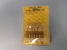 IDEC RELAY 14-BLADE RH4B-UAC120V-BP