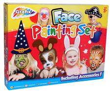Face Paints Set Painting Kit Kids Painting + Accessories Grafix