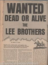 The Lee Brothers of Gainsville Texas+Marshall Heck Thomas,Sherriff Hill,Pierce