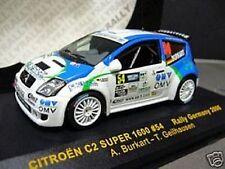 CITROEN C2 Rallye Super 1600 Burkhart OMV Deutschland 2006 IXO Sonderpreis 1:43