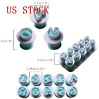 1x New Alphabet Letter Number Cookie Fondant Mould Cake Icing Cookie Cutter Mold