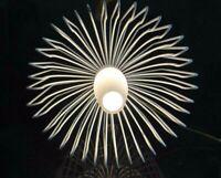 Lampe design vintage opaline