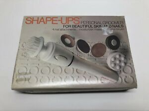 Vtg Conair Shape-Ups Personal Groomer BB20 4 Attachments Skin Nails