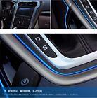 5M AUTO ACCESSORIES CAR Universal Interior Decorative Blue Strip CHROME Shiny