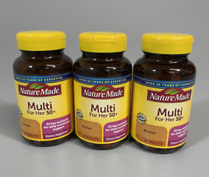 Nature Made Multi For Her 50+, 3 pack (90 x 3 = 270), EXP 11/2021
