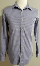 Banana Republic Shirt Blue Button Down Collar Long Sleeve Cotton Size Large
