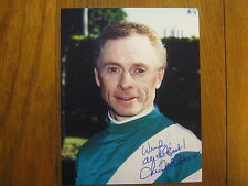 CHRIS  McCARRON   Hall of Fame  Jockey/Derby Winner  Signed  8 X 10 Color  Photo