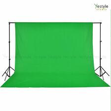 Photo Studio 3x6m Green Backdrop+2.8x3m Stand Kit Tripod Photography Background
