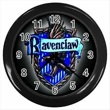 NEW* HOT HARRY POTTER RAVENCLAW HOGWARTS SCHOOL Black Wall Clock Decor Gift