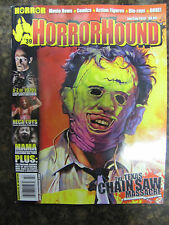 Horror Hound #39 Uncirculated The Texas Chainsaw Massacre & Mama